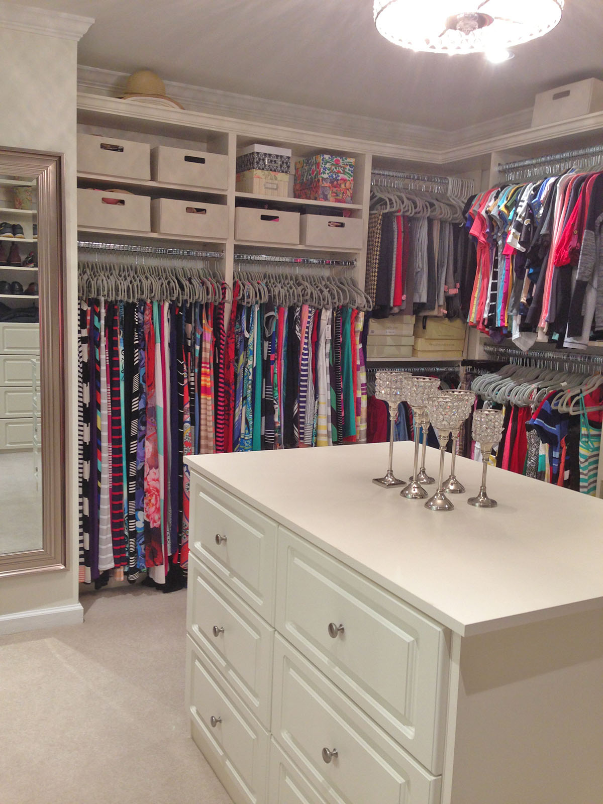 Latest Gallery Custom Closets Garages Offices Pantries Georgia With Closet  Island.