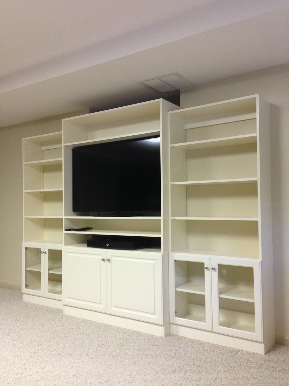 custom home entertainment centers