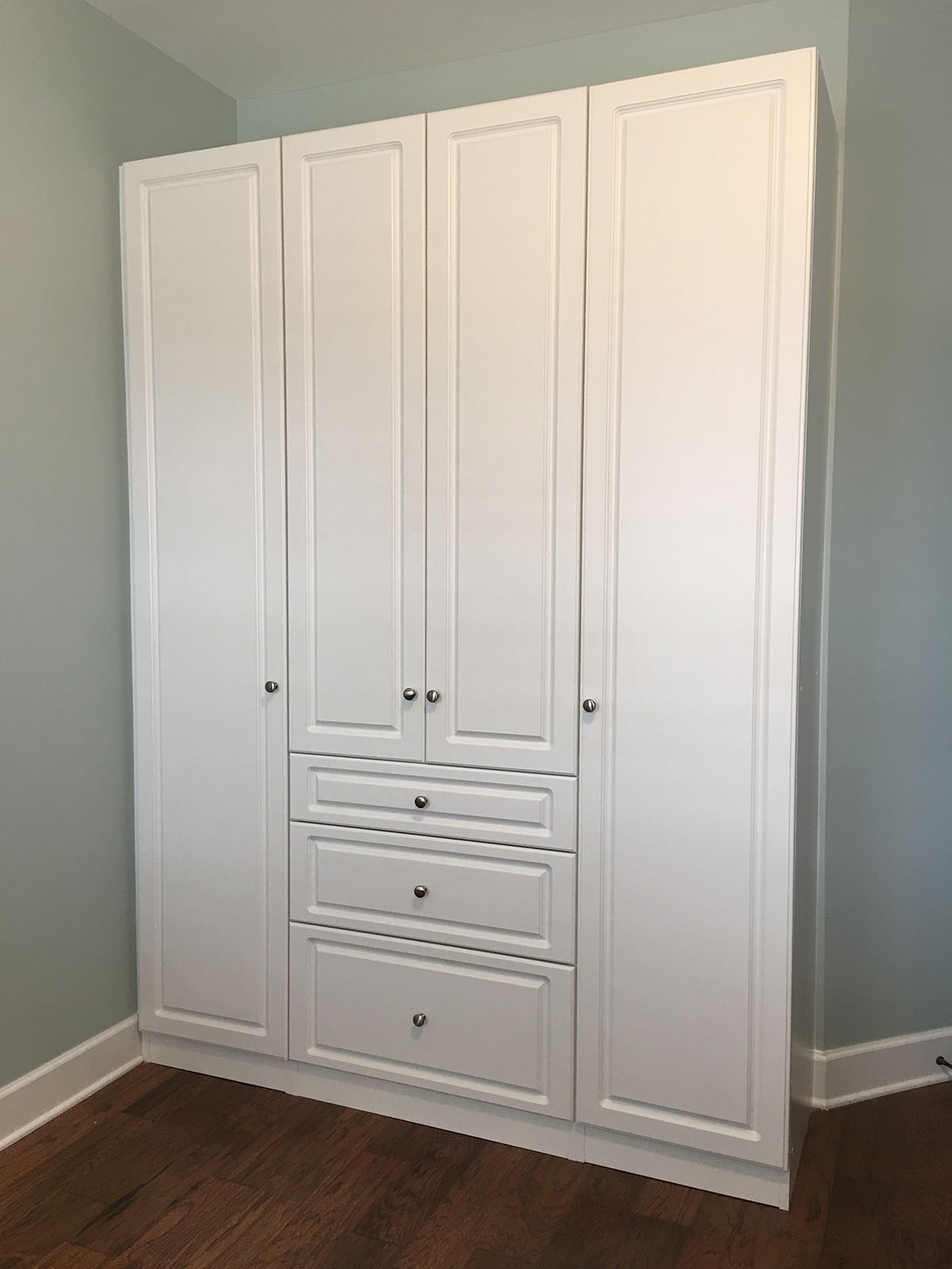 custom storage for bedroom
