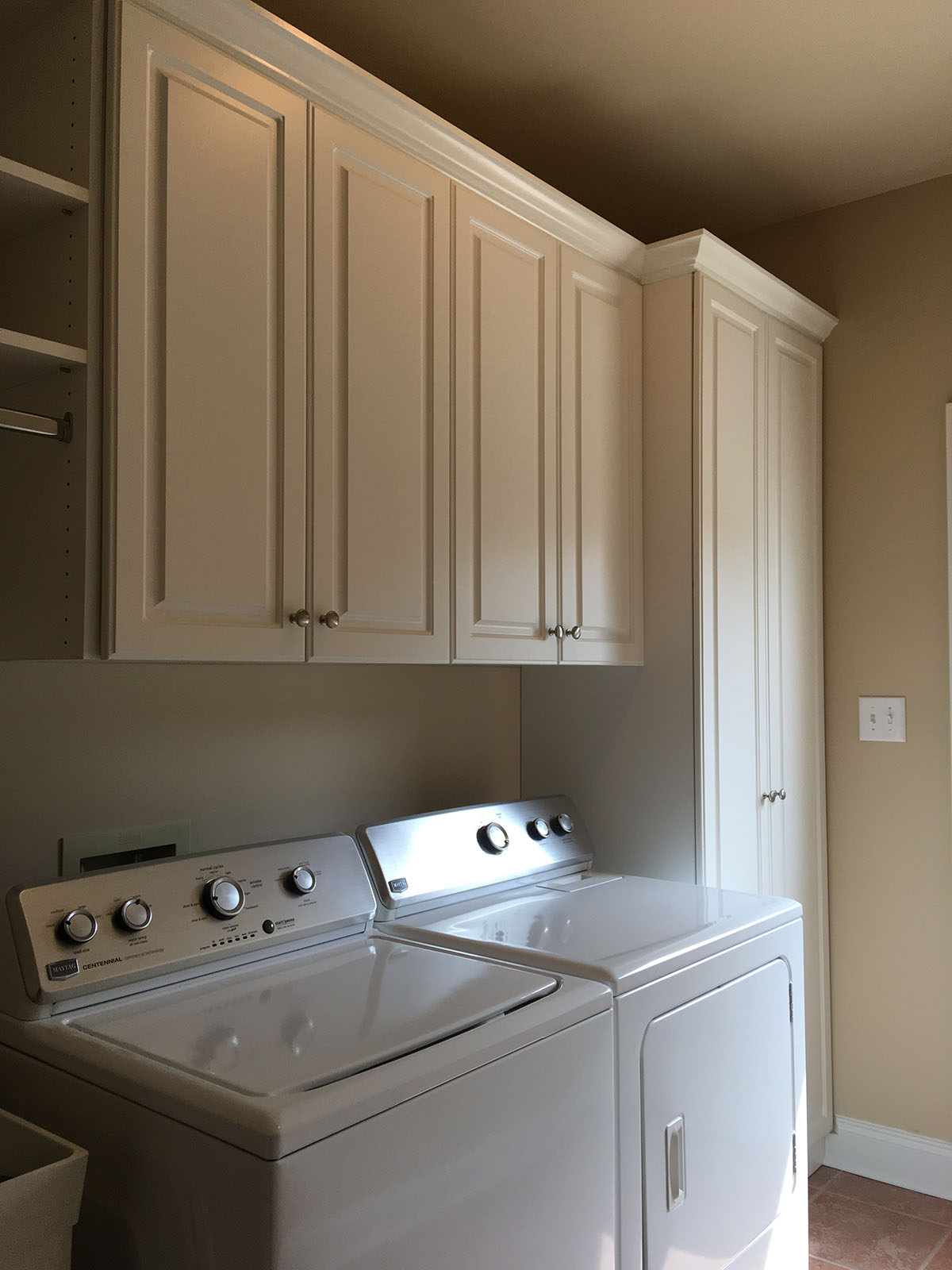 laundry room closets