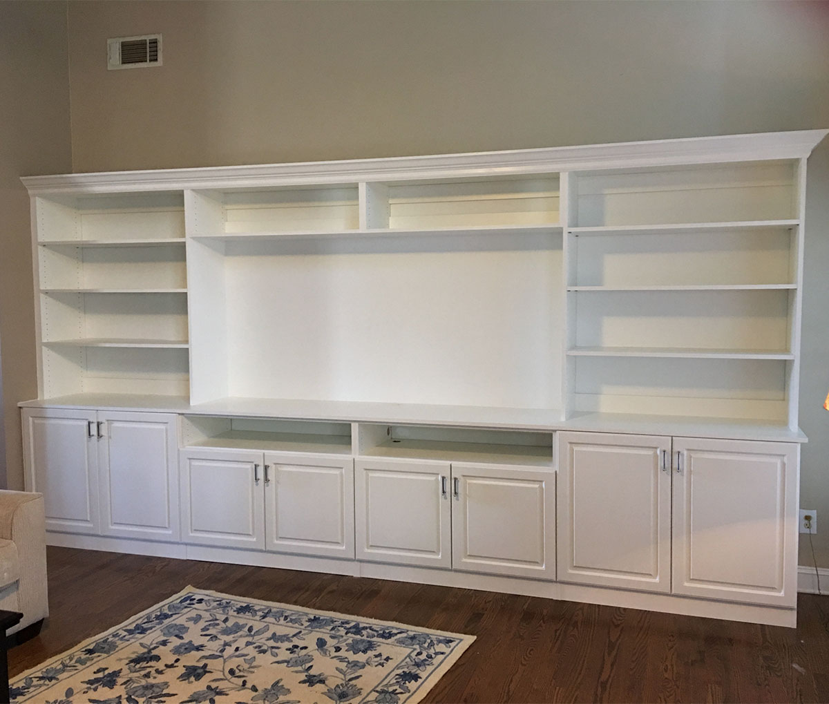 Custom Home Entertainment Centers Wall Units Cabinets